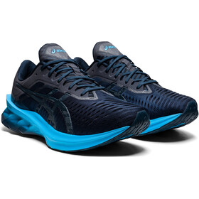 asics Novablast Schoenen Heren, french blue/digital aqua